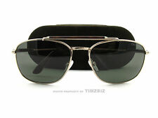 New Tom Ford Sunglasses TF 339 Marlon 28N Gold Men's Aviator FT0339/S Authentic