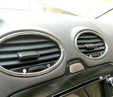 Ford Focus 2 MK2  Chrom Abdeckung für Lüftungen TDCI ST Ab.2009-2013