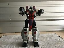 HASBRO TRANSFORMERS 2004 JETFIRE STARSCREAM 15' CYBERTRON ACTION FIGURE. LOOK!!