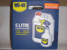WD40 5 LITRE + APPLICATOR WD-40 5LTR MULTI-USE LUBRICANT - SPECIAL OFFER