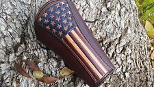 ARCHERS  OLD GLORY/ AMERICAN / UNION FLAG ARM GUARD / HANDMADE IN USA !!!