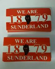 Sunderland Football/Ultras 10x5cm Stickers. Pack of 25. Brand New. Unofficial.