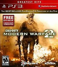 Call of Duty: Modern Warfare 2 -- Greatest Hits Sony PlayStation 3, 2013 NEW PS3