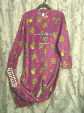 WOW~JOE BOXER MONKEYS ADULT FLEECE ONE PIECE ONESIE FOOTED FOOTIE PAJAMAS~1X~NEW