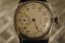 VINTAGE TRENCH WALTHAM MANUAL WIND MENS WATCH (NOT WORKING)