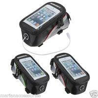ROSWHEEL BICYCLE BIKE IPHONE NOTE S3 HOLDER CYCLE FRAME POUCH BAG CASE