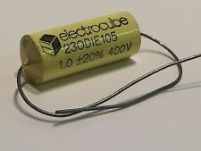 1UF 400V AXIAL METALLIZED POLYESTER FILM ELECTROCUBE CAPACITOR            fd5d17