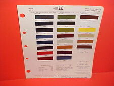 1971 CHRYSLER IMPERIAL LEBARON 300 NEWPORT NEW YORKER TOWN & COUNTRY PAINT CHIPS