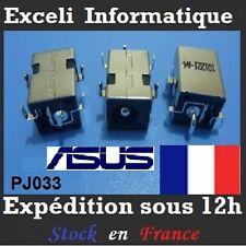 Connecteur alimentation dc jack pj033 pc portable Asus X53E X53S X58 X58C X58L
