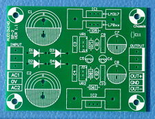 Voltage Regulator PCB for LM317 LM337 or 78xx 79xx IC
