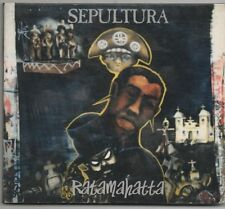 SEPULTURA CD Digipak 1996 Roadrunner RATAMAHATTA with 2 live trax