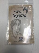 WHERE ART THOU ROMEO? 2015 TABLETOP DAY PROMO CARD GAME COUNCIL OF VERONA