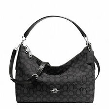 Authentic COACH East/west Celeste Convertible In Outline Signature Hobo Bag $325