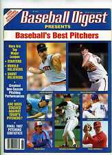 1988 Baseball Digest Pitching Yearbook  Sports Illustrated Size