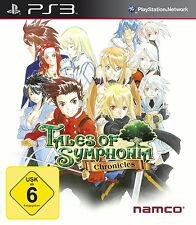 Tales of Symphonia Chronicles (Sony PlayStation 3, 2014, DVD-Box) PS3
