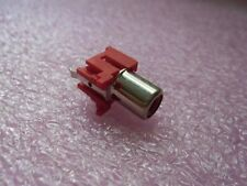 10x HTJ-032-04BR RED CONNECTOR RCA JACK SOCKET FEMALE 2PIN PCB ST VERTICAL MOUNT