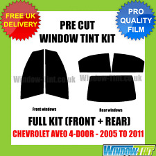 CHEVROLET AVEO 4-DOOR 2005-2011 FULL PRE CUT WINDOW TINT