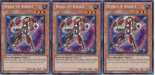 *** 3X WIND-UP RABBIT 3X *** SECRET RARE PLAYSET PSHW-EN083 YUGIOH