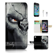 "iPhone 6 (4.7"") Print Flip Wallet Case Cover! Cool Org Face P0444"