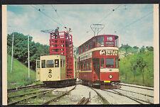 Tram Transport Postcard - Tramway Museum, Crich, Leeds 180 In Depot    DR146