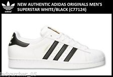 New Authentic Adidas Originals Men's Superstar - 10.5 White/Black