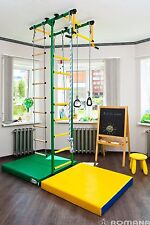 Indoor playground for kids (Jungle gym) Green