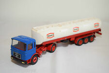 CONRAD MAN TRUCK WITH TANK TRAILER TANKER TEXACO EXCELLENT CONDITION