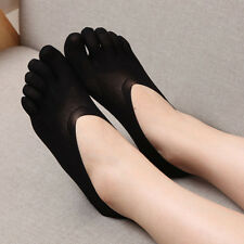 Women Cotton Blend Lace Antiskid Invisible Low Cut Socks Toe Ankle Sock Hot !