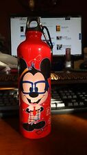 DISNEY MICKEY AND MINNIE MOUSE NERDS aluminum water bottle NEW