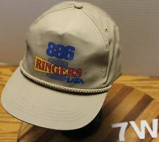VINTAGE 886 RINGERS HAT BEIGE SNAPBACK ADJUSTABLE IN VERY GOOD CONDITION