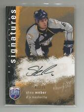 2007-08 BAP Be a Player Signatures Auto She Weber 7/15 Nashville predators S-WE