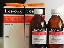 2 X TRES-ORIX FORTE SYRUP  APPETITE BOOSTER 250ML