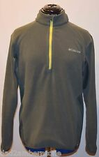 Columbia Men's Omni Heat 360 II 1/2 Zip Fleece (Gravel) Medium