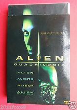 slipcase box 4 dvds alien aliens alien 3 alien la clonazione sigourney weaver z