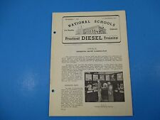 1940's Diesel Training National Schools Lesson #59 Generator Circuit Class M965