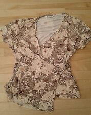 Ladies BHS blouse top casual smart side size 20 nice