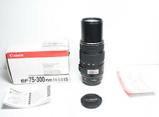 CANON EF 75-300mm IS Stabilizer USM lens for EOS T6i T5i T6 80D 7D 5D III 6D etc