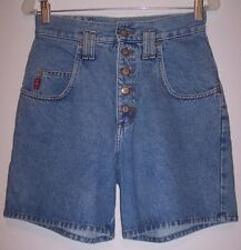 LEI Denim Shorts S M Grunge Revival SUPER High Waist Denim Mom Jeans Short Pants