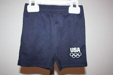 New-Mended- Olympics Team USA Toddlers 3T Cute Navy Blue Shorts