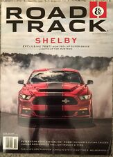 Road & Track Shelby Exclusive Test Super Snake Mustang Oct 2015 FREE SHIPPING