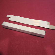 LOT OF 25 WHITE CARDBOARD GLOSSY PEN GIFT BOX- NEW