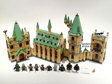 LEGO HARRY POTTER 'HOGWARTS CASTLE' #4842 ALL 11 FIGURES 100% COMPLETE GUARANTEE