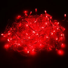 100/200/300/400/600 LED String Fairy Lights Lamp Bulb Xmas Party Decor Outdoor