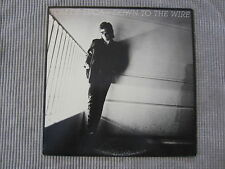 TOM DE LUCA ~ DOWN TO THE WIRE  VINYL RECORD LP