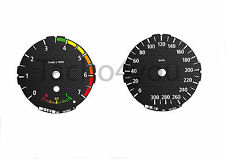Bmw de tacómetro para 1er e81 e82 e87 e88 300 sets multaránpor km/h m1 carbon nr 107
