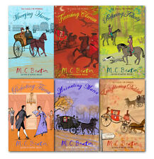 M.C.Beaton School For Manners 6 Books Collection Set Pack Finessing Clarissa