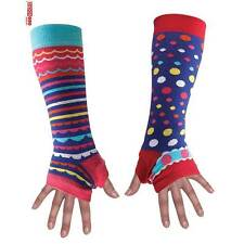 Purple Stripe and Spot Arm Warmers ~ One Size - Colourful by United Oddsocks