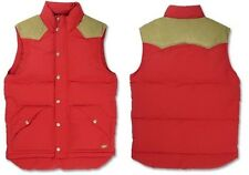 NEW LEVI'S MOUNT DIABLO VEST MENS DOWN JACKET COAT PARKA MEDIUM M MD RED $128