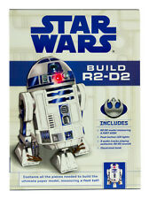 Star Wars Build R2-D2 Paper Craft Model Kit with Authentic Sound Module LED Lite