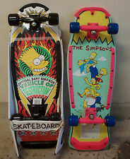 RARE VINTAGE THE SIMPSONS SKATEBOARD LOT NOS BART SIMPSON COLLECTORS ITEM NIB